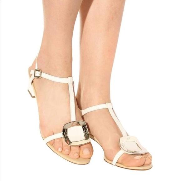 Chips leather sandals Roger Vivier jJy5UtD